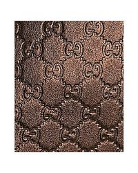 Gucci - Brown Bronze Ssima Leather Travel Tote - Lyst