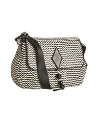 Marc Jacobs | Black Ossie Aztec Woven-leather Bag | Lyst