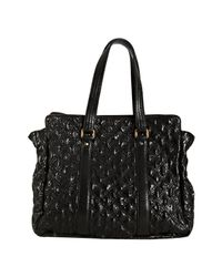 Marc Jacobs | Black Quilted Leather Leon Tote | Lyst