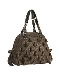Marc Jacobs | Brown and Green Leather Dancer Tassel Bag | Lyst