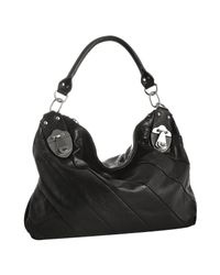 Rough Roses | Black Leather Jewel Hobo | Lyst