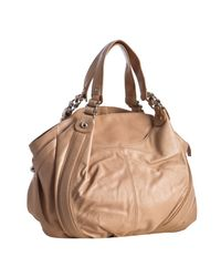 Sondra Roberts | Natural Leather Roberta Rounded Shoulder Bag | Lyst