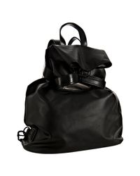 Balenciaga | Black Coated Fabric Large Backpack | Lyst