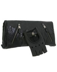 Alexander McQueen | Black Faithful Glove Clutch | Lyst