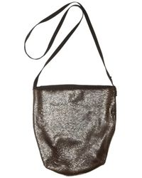 Ann Demeulemeester | Metallic Glo Mesh Shoulder Bag | Lyst