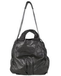 De Couture - Black Gold Chain Calf Loose Shoulder Bag - Lyst