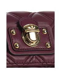 Marc Jacobs - Purple Violet Quilted Lambskin The Single Crossbody Bag - Lyst
