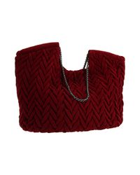 Elie Tahari - Red Beverly Tote - Lyst