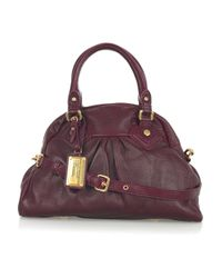 Marc By Marc Jacobs | Purple Baby Aidan Leather Bowling Bag | Lyst