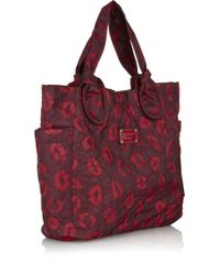 Marc By Marc Jacobs - Purple Lip Print Tote Bag - Lyst