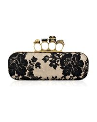 Alexander McQueen | Natural Knuckle Duster Box Clutch | Lyst