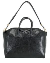 Givenchy | Black Antigona Medium Grain Boston Bag | Lyst