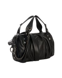 Gucci | Black Leather Icon Bit Medium Boston Bag | Lyst