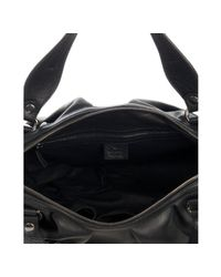 Gucci - Black Leather Icon Bit Medium Boston Bag - Lyst
