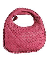 Bottega Veneta | Pink Woven Leather Small Handbag | Lyst