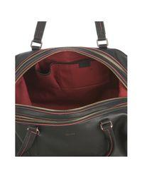 Céline - Black Leather Medium Duffel Bag - Lyst