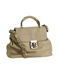 Chloé | Natural Beige Buffalo Elsie Shoulder Bag | Lyst