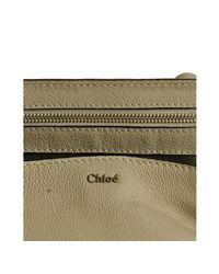 Chloé - Natural Beige Buffalo Elsie Shoulder Bag - Lyst