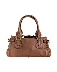 Chloé - Brown Paddington Classic Shoulder Bag - Lyst