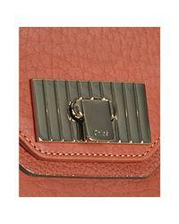 Chloé | Red Terracotta Calfskin Sally Tote | Lyst