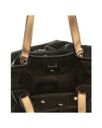 Fendi   Black Zucca Canvas Mare Star Stud Mini Bag   Lyst