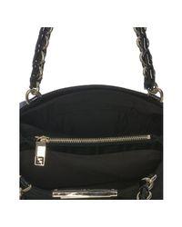 Fendi - Black Zucca Mia Small Chain Bag - Lyst
