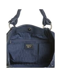 Furla - Blue Cobalt Leather Lily Gathered Ring Shopper Bag - Lyst