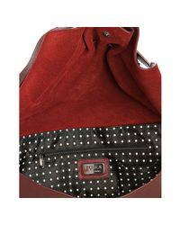 Furla - Red Leather Adda Large Shoulder Bag - Lyst