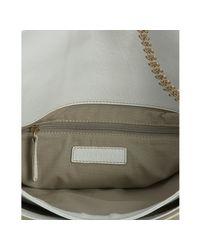 Givenchy - White Leather Melancholia Large Chain Shoulder Bag - Lyst