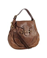 Gucci | Light Brown Leather New Pelham Large Shoulder Bag | Lyst