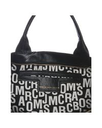 Marc By Marc Jacobs | Black Leather R Special Large Tote | Lyst