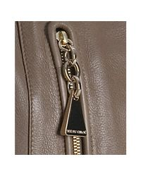 See By Chloé - Brown Taupe Leather Cherry Vertical Zip Handbag - Lyst