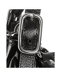 Tod's | Black Coated Canvas Tote Shoulder Bag | Lyst