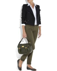 Marc By Marc Jacobs | Green Sophie Leather Satchel | Lyst