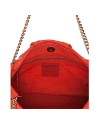 Christian Louboutin - Pink Coral Leather Lolita Chain Bag - Lyst