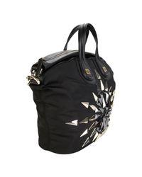 Givenchy - Black Studded Nightingale Bag - Lyst