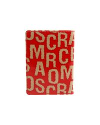 Marc By Marc Jacobs - Red Hairy Logo Passport Sleeve - Lyst
