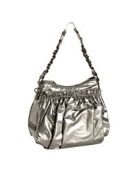 Marc Jacobs | Green Platinum Shiny The Small Parachute Shoulder Bag | Lyst