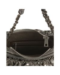 Marc Jacobs - Green Platinum Shiny The Small Parachute Shoulder Bag - Lyst