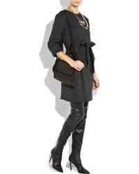 Christian Louboutin - Black Lili 100 Thigh-high Boots - Lyst