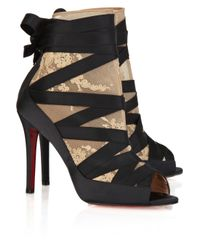 Christian Louboutin | Black Petite Fee 100mm Boots | Lyst