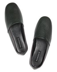 Newbark   Green Flor Leather Shoes   Lyst