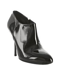 Gucci | Black Patent Sofia Ankle Boots | Lyst