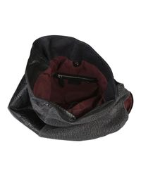 Pauric Sweeney | Black Texture Mix Hobo Bag | Lyst