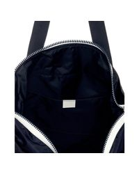 Gucci | Blue Navy Nylon Crest Trademark Large Tote | Lyst
