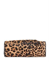 Christian Louboutin - Multicolor Eugenia Pony Leo Print Clutch - Lyst