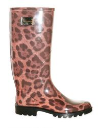 Dolce & Gabbana - Multicolor Rubber Boots - Lyst