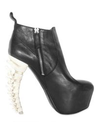DSquared² - Black 160mm Nappa Spine Heel Ankle Boots - Lyst