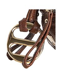Kooba - Brown Bourbon Leather Hadley Convertible Satchel - Lyst