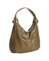 Kooba | Brown Mocha Leather Dakota Piped Seams Hobo Bag | Lyst